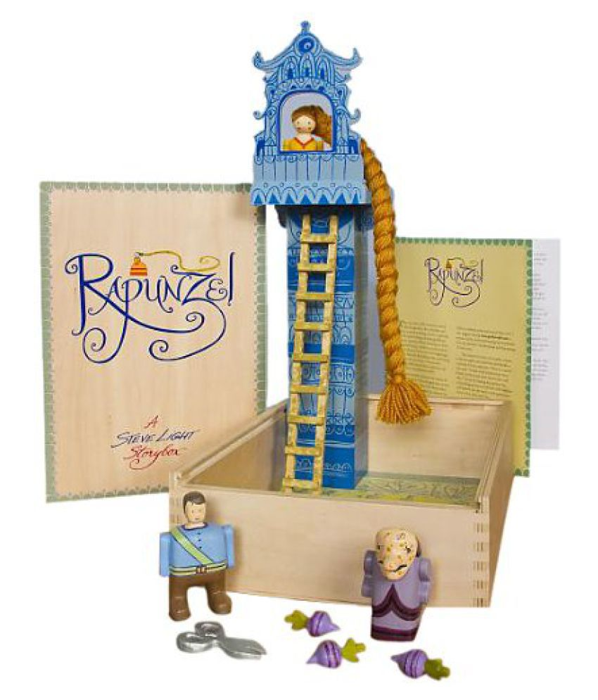 Guidecraft - Rapunzel Storybox