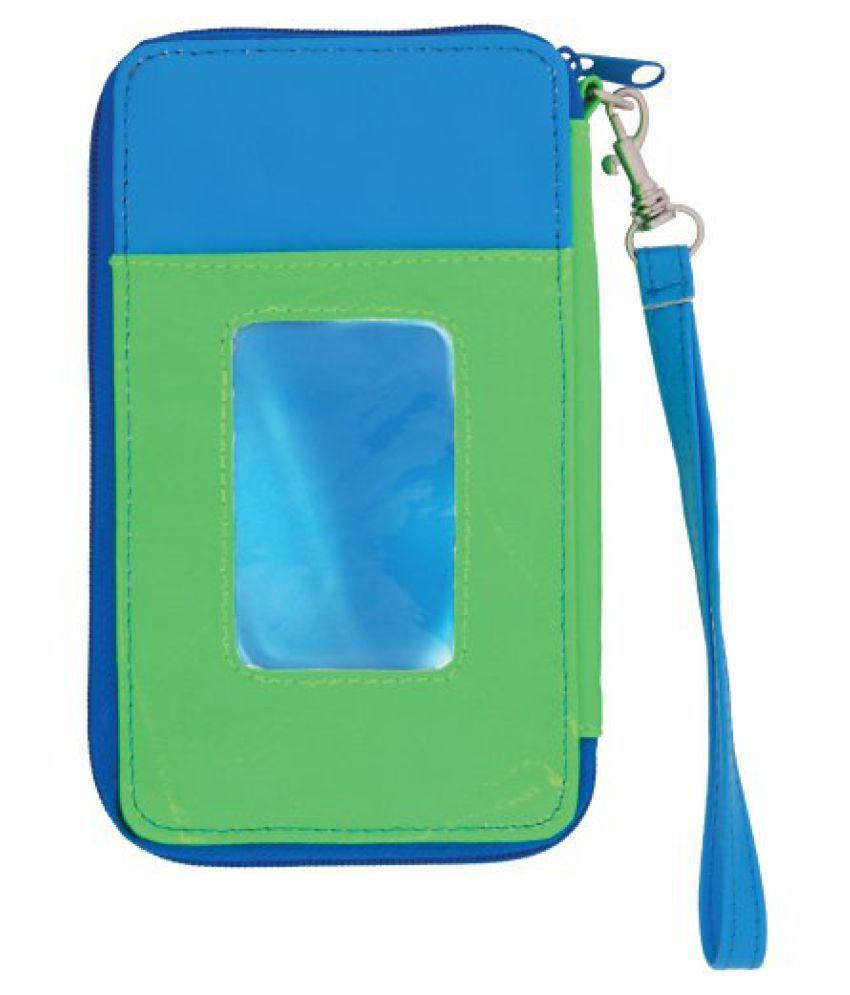 Molly ''n Me Calypso Cell Phone Wristlet, Neon Lime