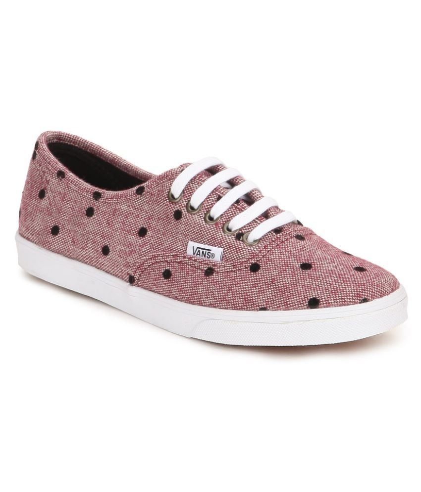 f946cd9f34 Vans Authentic Lo Pro Sneakers Pink Casual Shoes - Buy Vans Authentic Lo  Pro Sneakers Pink Casual Shoes Online at Best Prices in India on Snapdeal