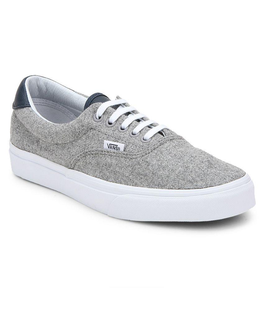 Vans Era 59 Sneakers Gray Casual Shoes - Buy Vans Era 59 Sneakers Gray  Casual Shoes Online at Best Prices in India on Snapdeal 414962d917ea
