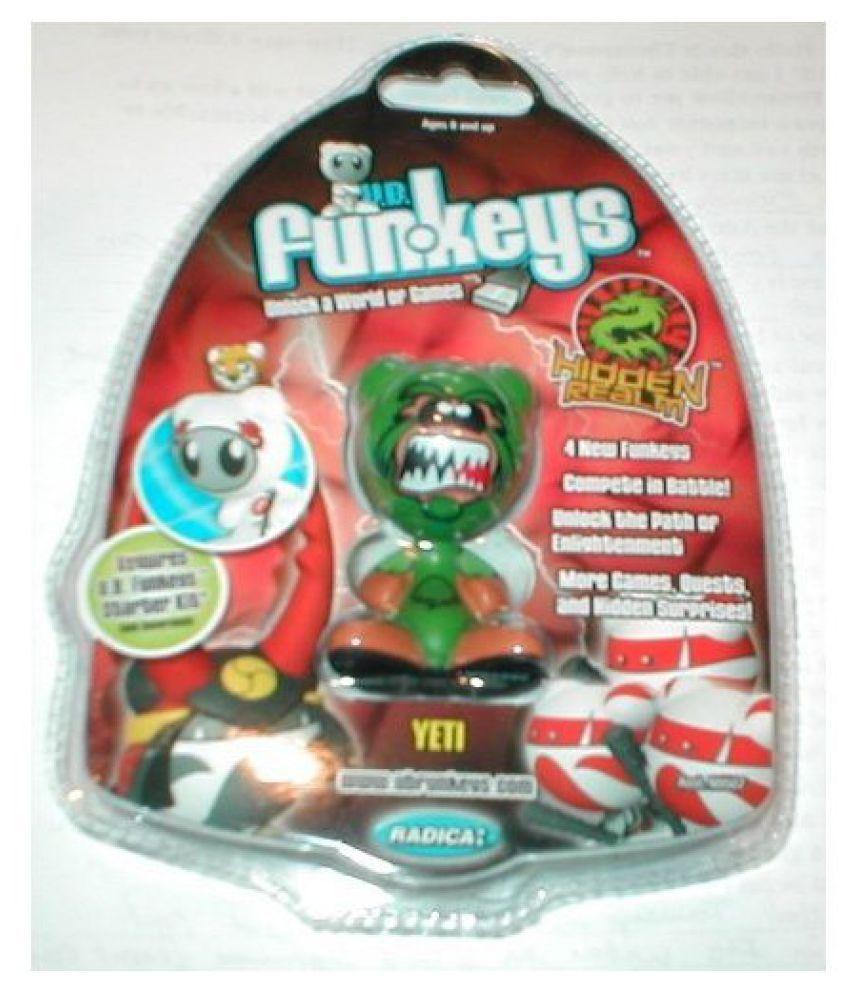 Yeti Very Rare U.B. Funkeys Hidden Realm Figure (Green)