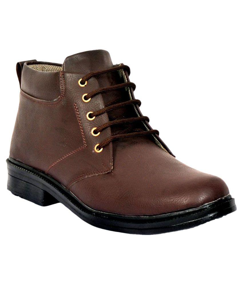Rasta Brown Casual Boot