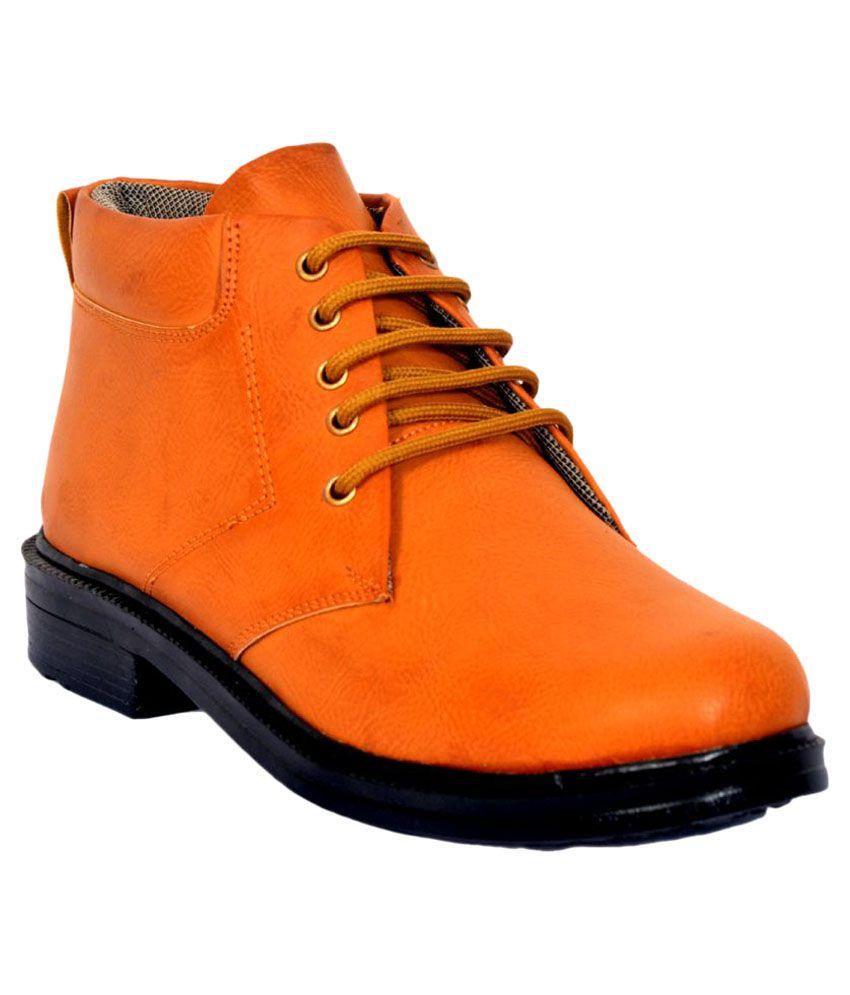Rasta Tan Casual Boot