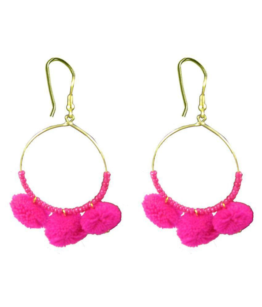 Collana Pink Hoops Earrings