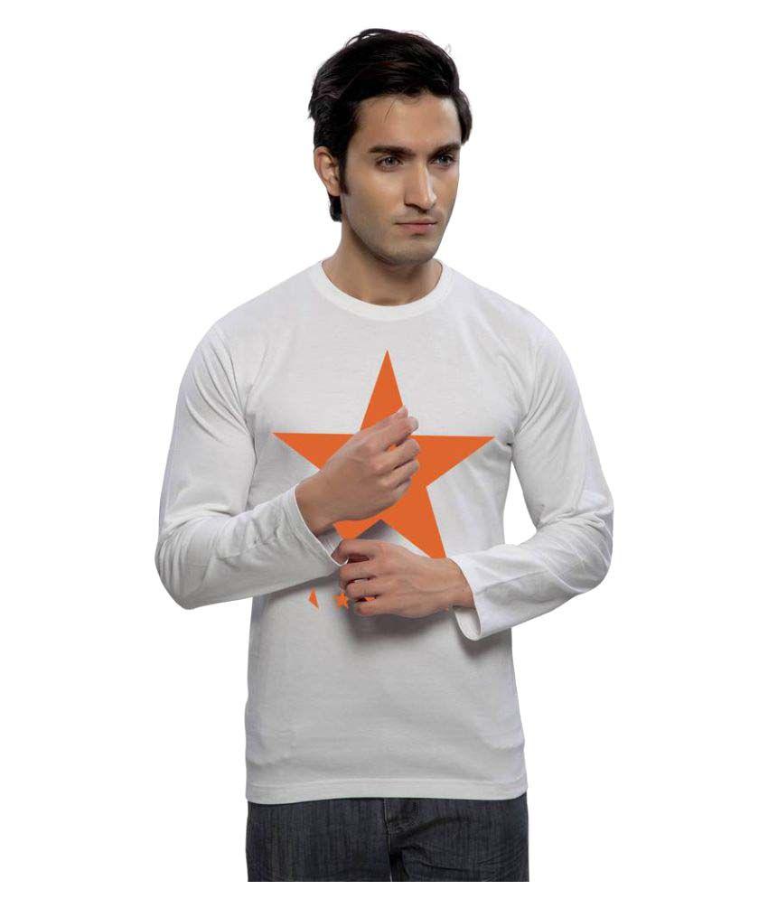 Clifton White Round T-Shirt
