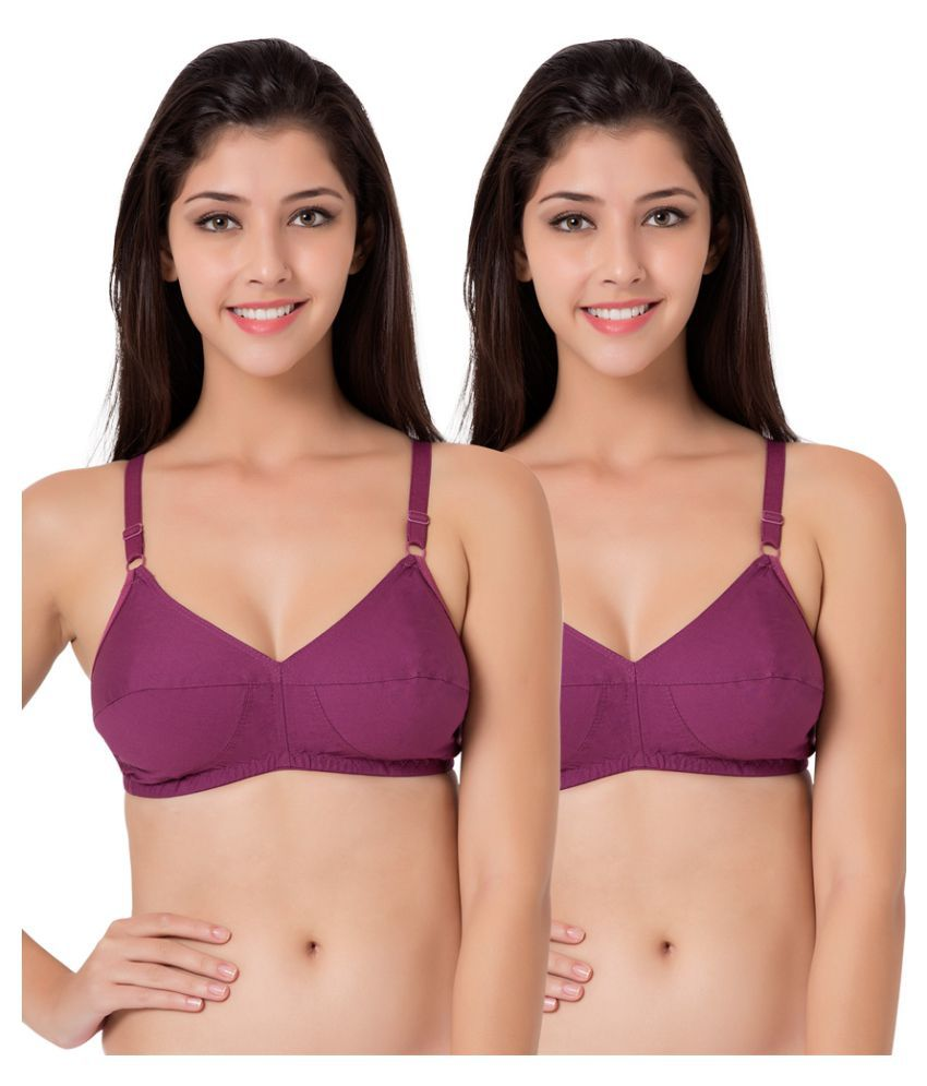 1063c156c11056 Buy Souminie Cotton Vintage Bra Online at Best Prices in India - Snapdeal