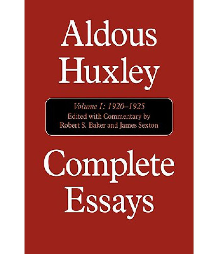 collected essays by aldous huxley Browse and read collected essays by aldous huxley collected essays by aldous huxley feel lonely what about reading books book is one of the greatest friends to.