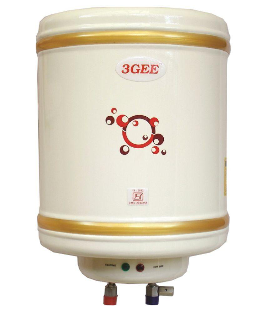 3Gee 6 Litre 2 KW Storage Water Geyser