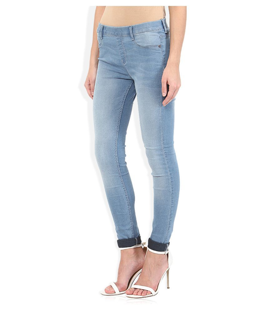 48942a1dff389 Buy Jealous 21 Cotton Jeggings Online at Best Prices in India - Snapdeal