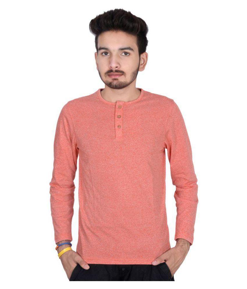 Decot Paradise Orange Round T-Shirt