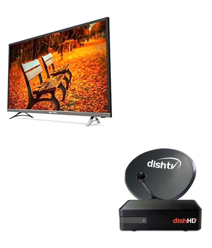 Micromax 43T7670FHD 109 cm ( 43 ) Full HD (FHD) LED Television + Dish TV