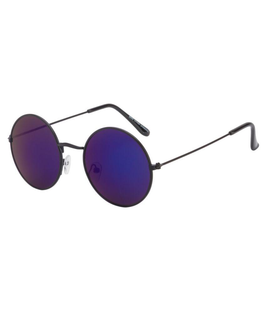 dd2bd1ceb6da Ochila Blue Round Sunglasses ( R1122 ) - Buy Ochila Blue Round Sunglasses (  R1122 ) Online at Low Price - Snapdeal