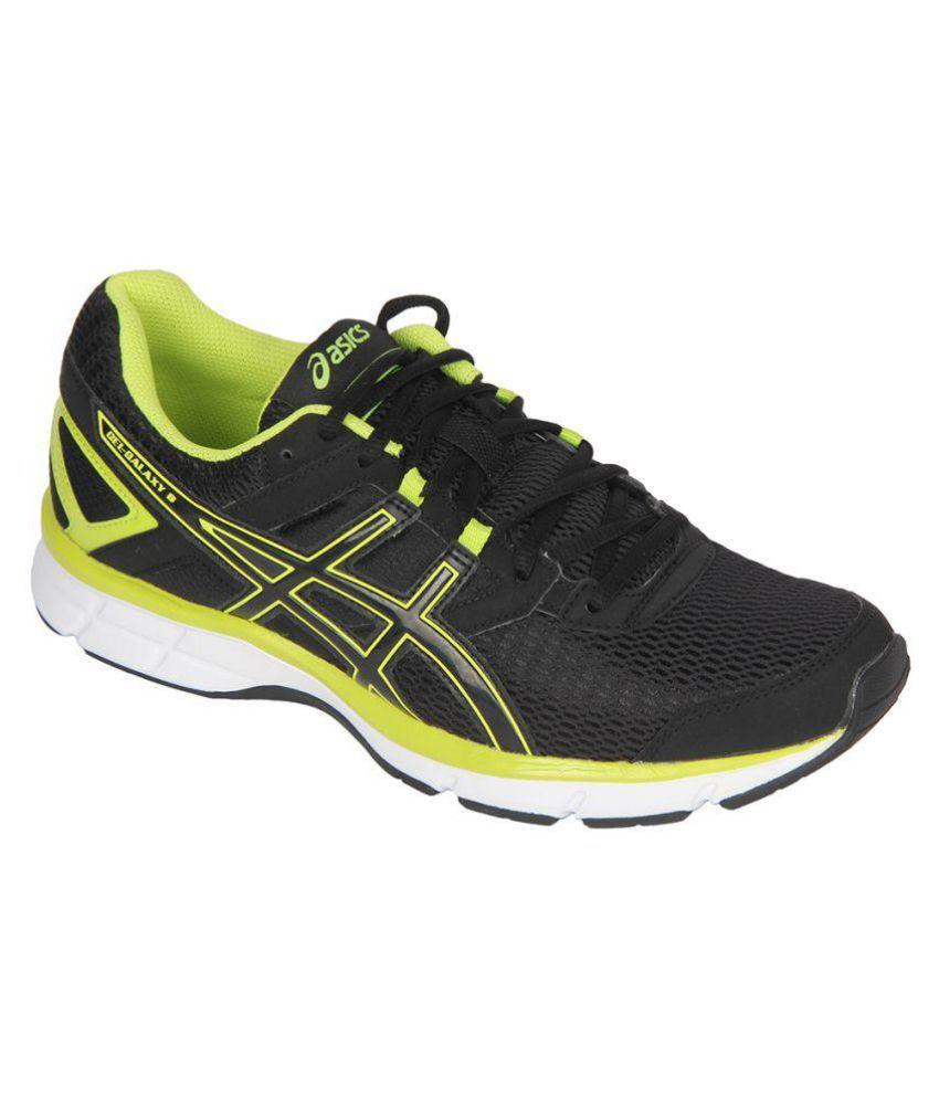 Asics Gel-Galaxy 8 Black Running Shoes