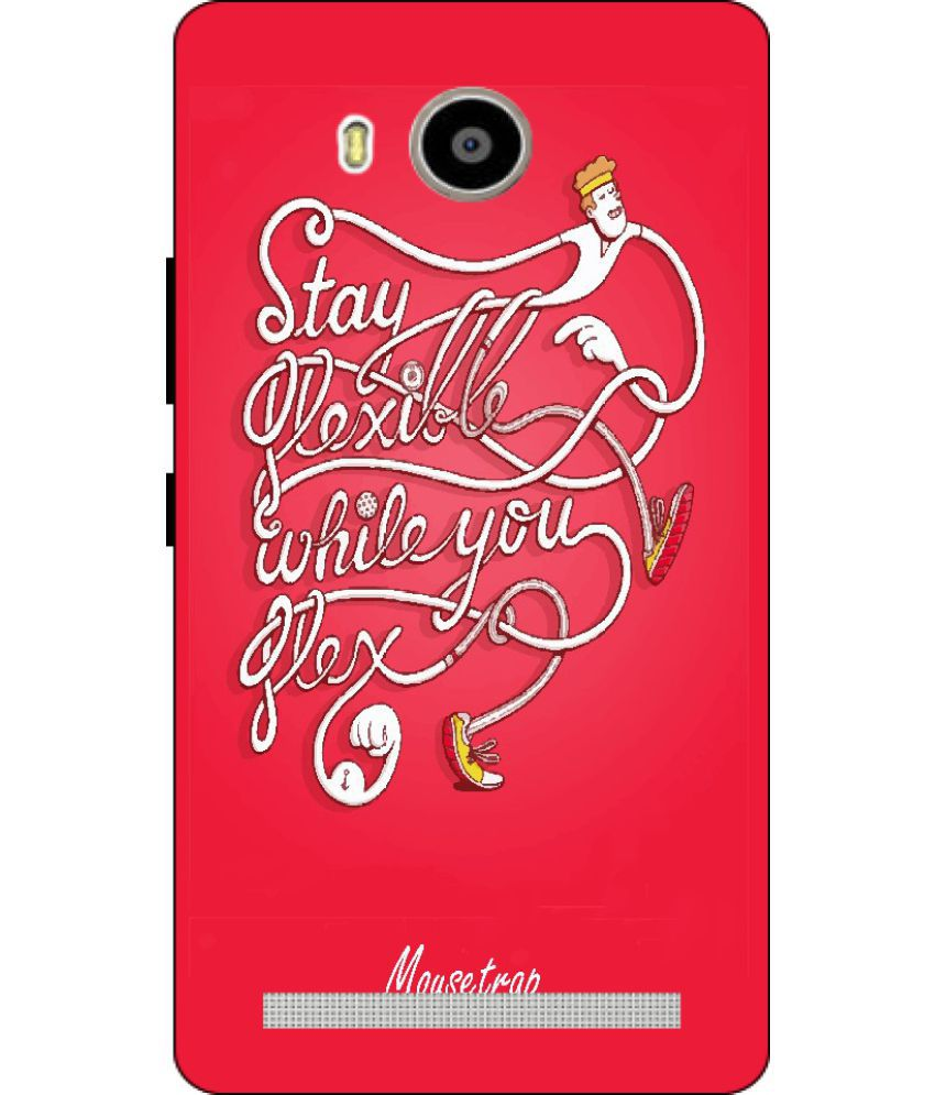 Lenovo A7000 Printed Cover By Mouse Trap