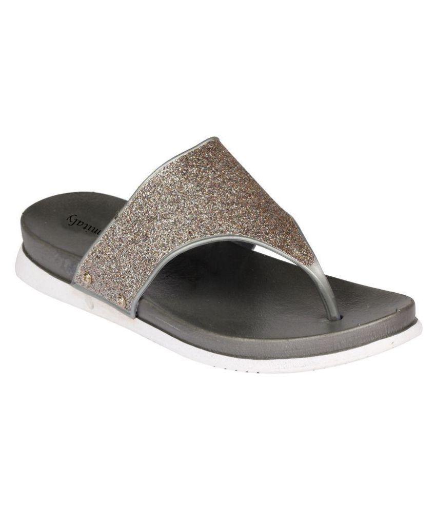 Femitaly Gray Slippers