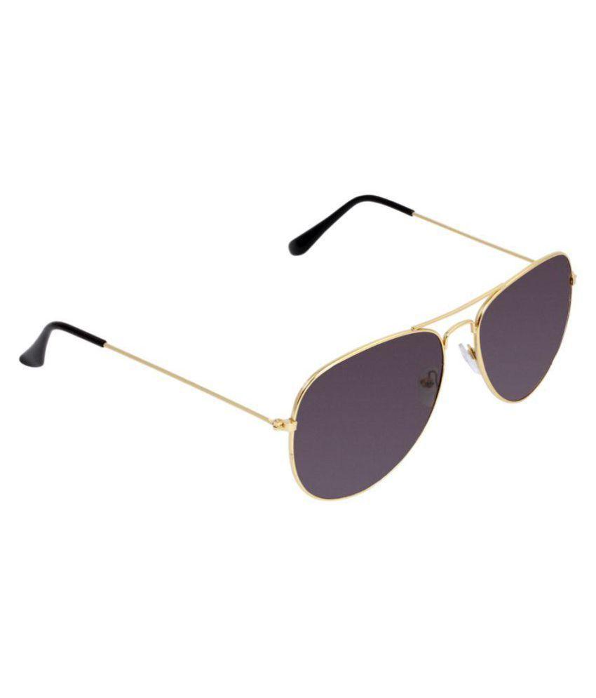 Skymie Black Aviator Sunglasses ( Sun2929 )