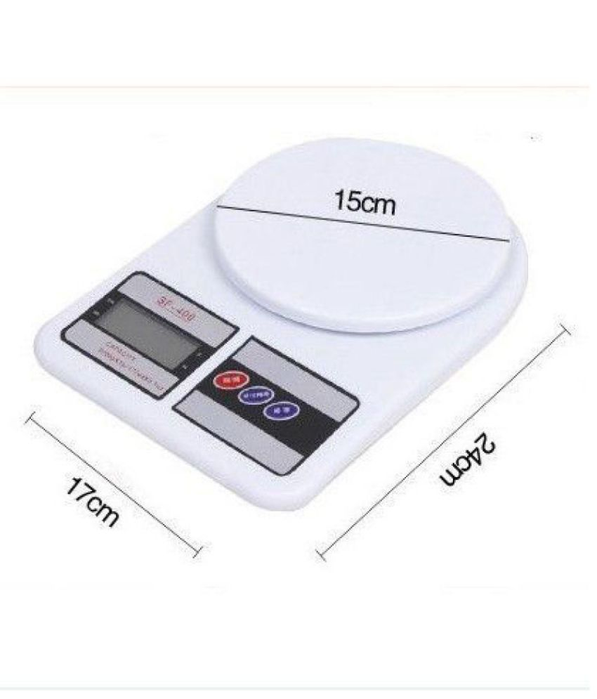 Electronic Digital Weight Scale Lcd Kitchen Weighing Scale Machine Cap 10 Kgs Ebay