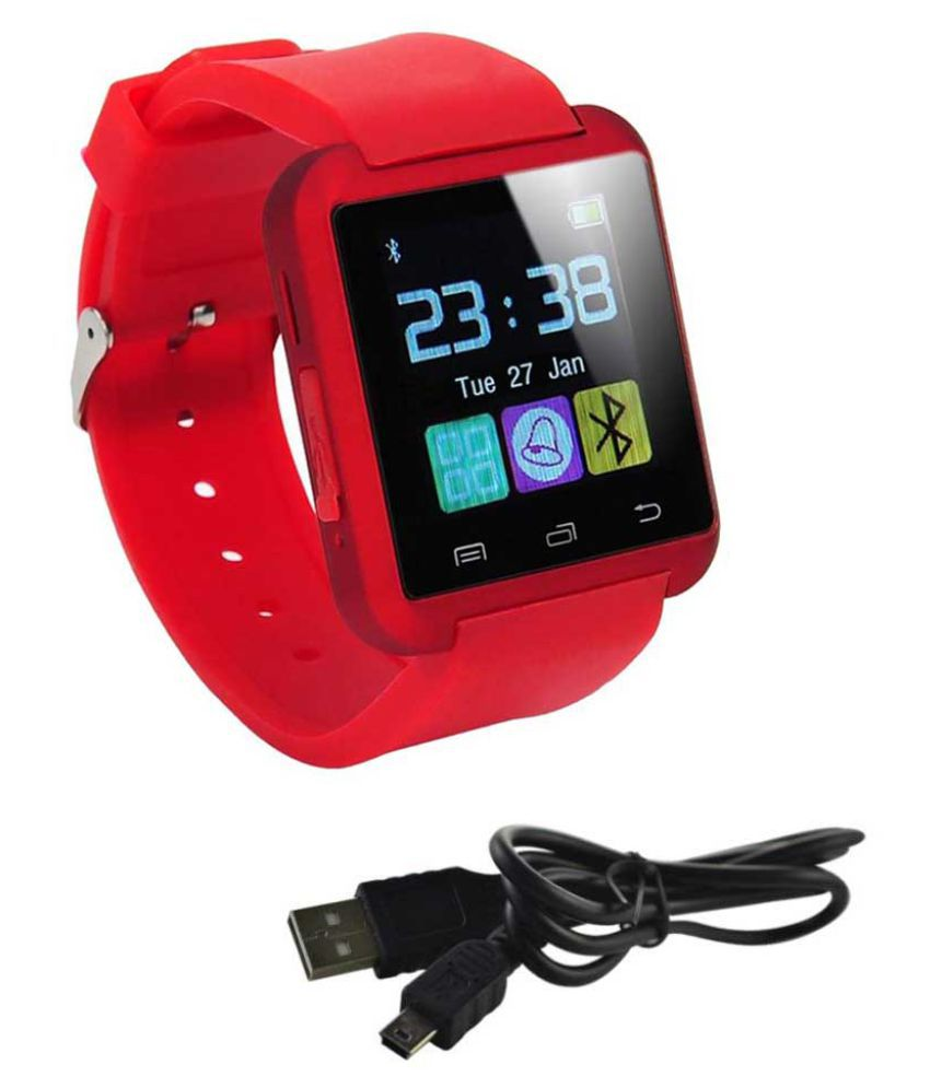 MOBICELL a107+ Smart Watches Red
