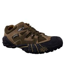 Woodland GC 0926110Y15 Outdoor Olive Casual Shoes