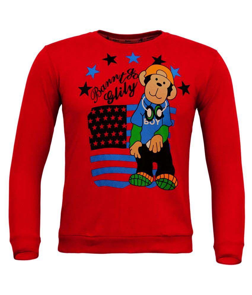 Kothari Red Sweatshirt