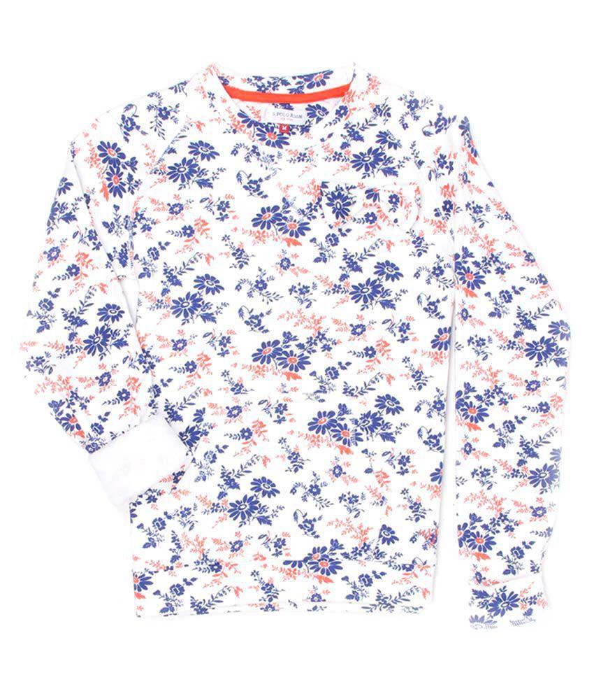 U S Polo Kids Girl's Sweat Shirt