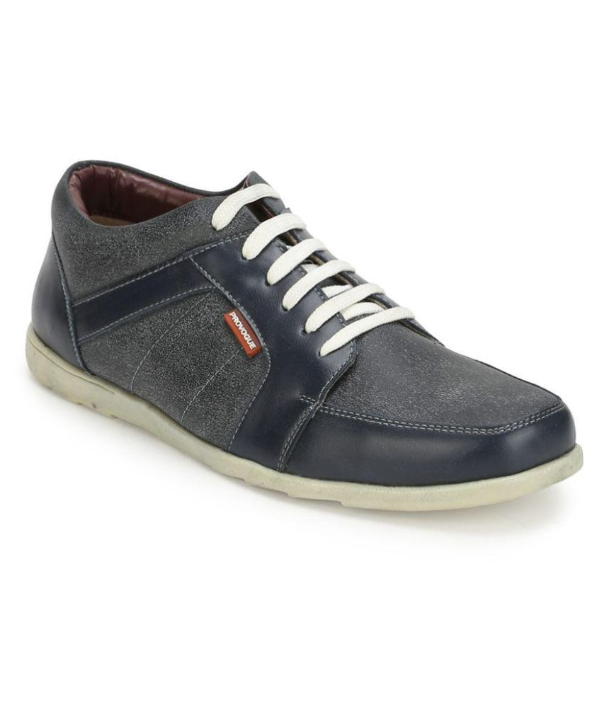 Provogue Sneakers Blue Casual Shoes