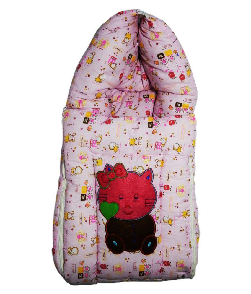 Crack4Deal Pink Cotton Sleeping Bag