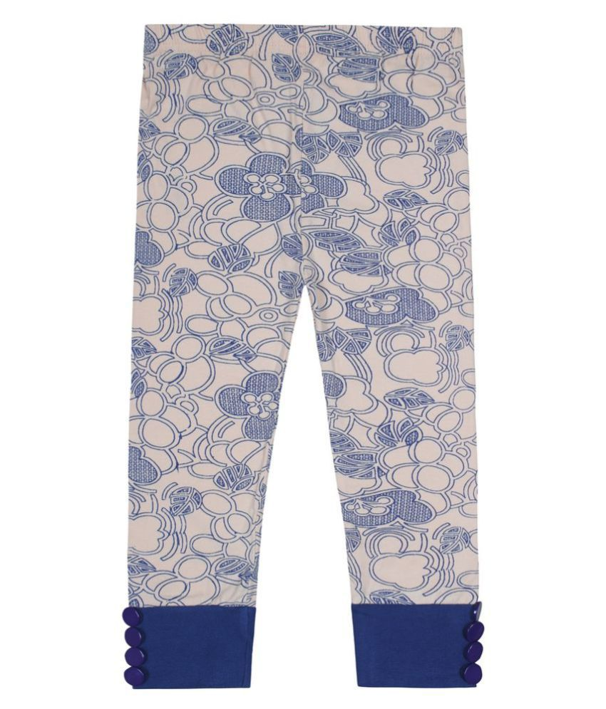 Jazzup Blue Cotton Bermudas