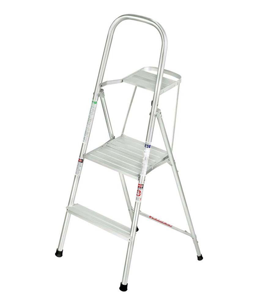 4 Feet Liberti Diy Aluminium Platform Ladder With Utility Tray