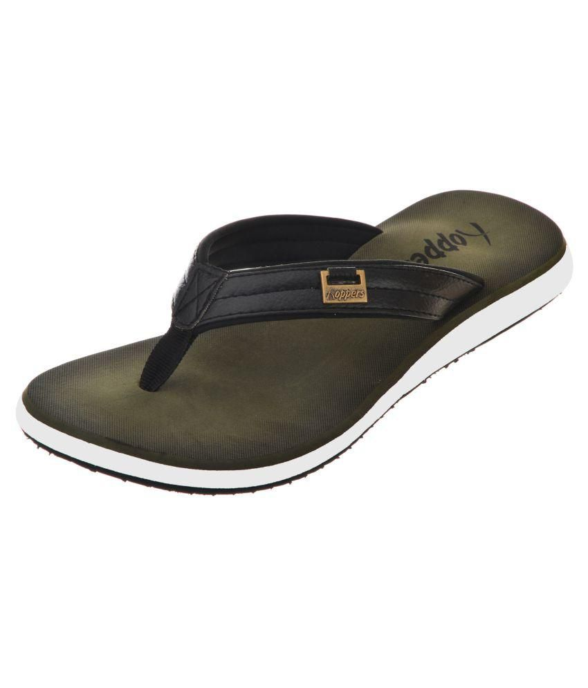 f01cb4768abaec Hoppers Black Thong Flip Flop Price in India- Buy Hoppers Black Thong Flip  Flop Online at Snapdeal