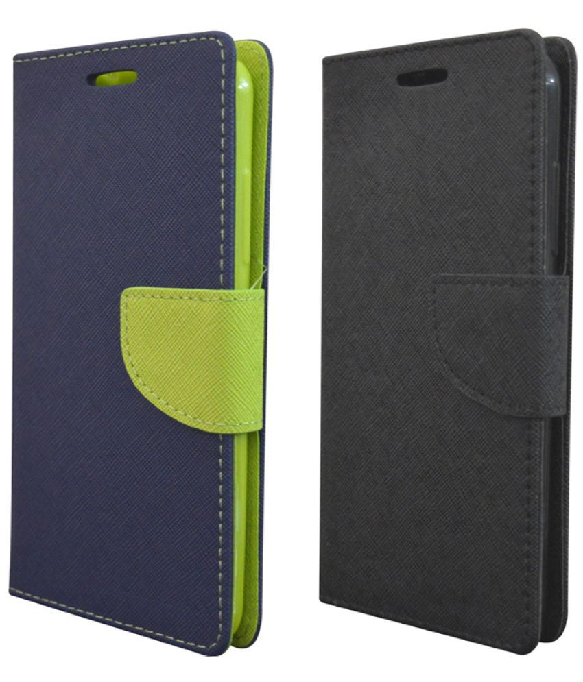 LYF Earth 1 Flip Cover by coverage - Multi