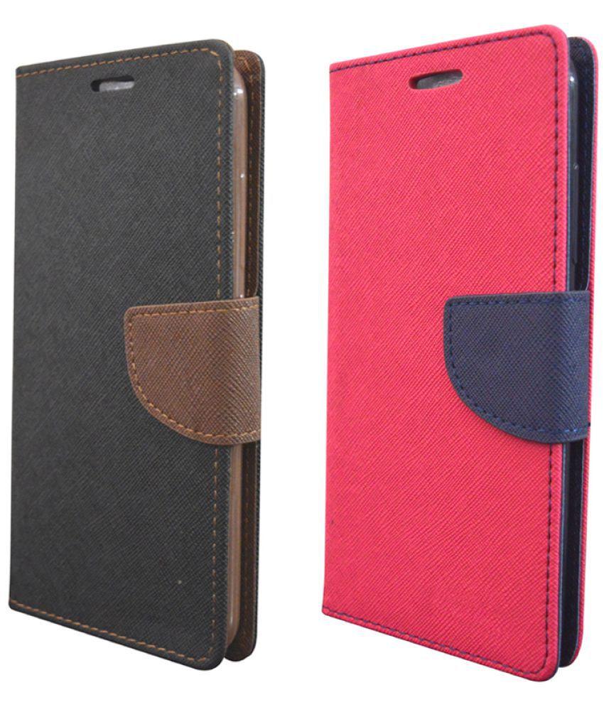 Samsung Galaxy On8 Flip Cover by Rdcase - Multi