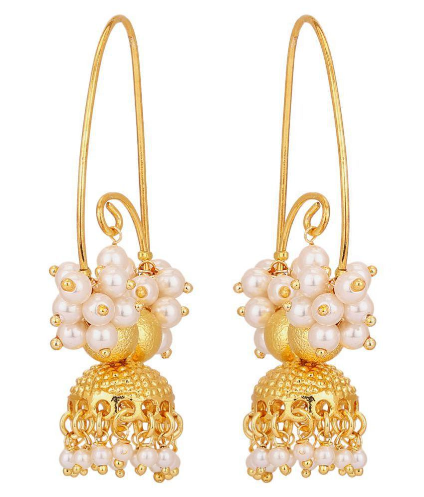 Adwitiya Fashion Golden Jhumki