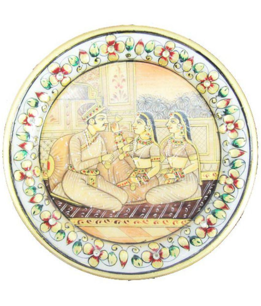 Indian Arts Museum Decoratives Bowls & Plates Marble Yellow 5