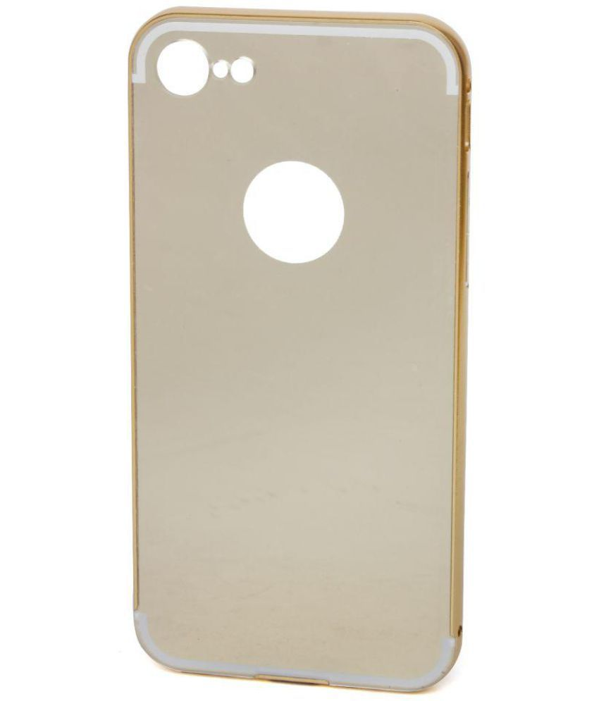 2955476c4b Apple iPhone 7 Cover by Tecozo - Golden - Plain Back Covers Online at Low  Prices | Snapdeal India