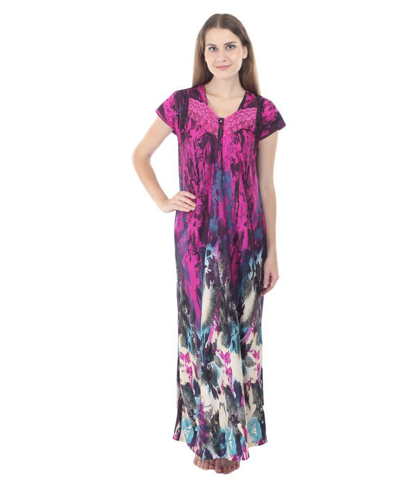 Embibo Nylon Nighty & Night Gowns