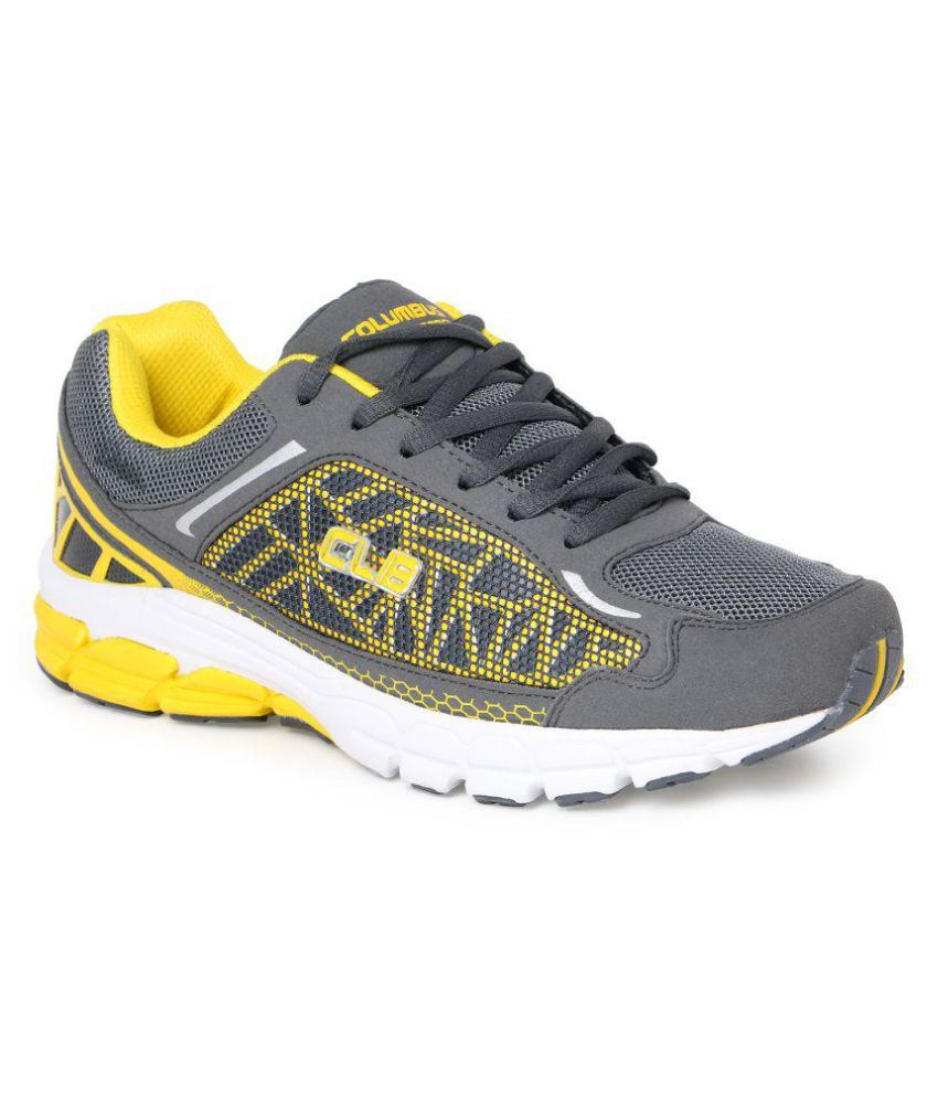 Columbas Blue Running Shoes