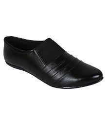Classy Feet Black Formal Shoes