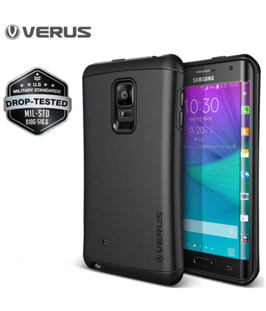quite nice 9873b 7b80c Samsung Galaxy Note Edge Cover by VERUS - Black