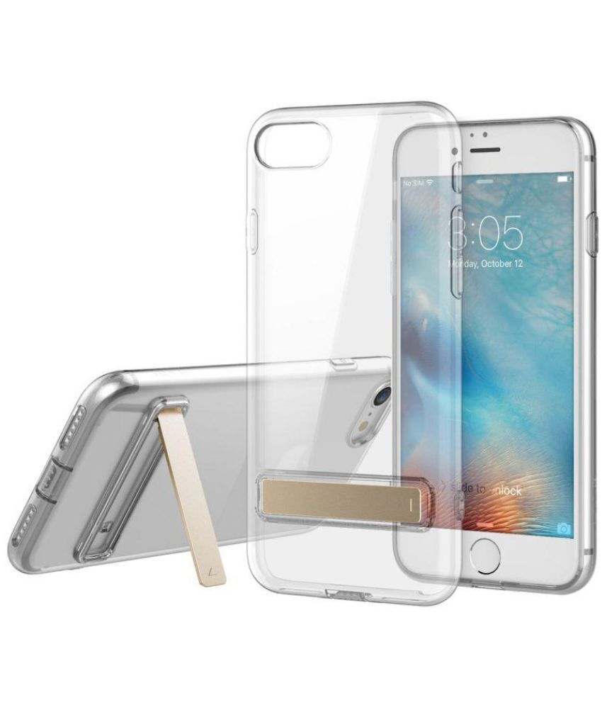 Apple iPhone 7 Case With Stand by Micomy - Transparent