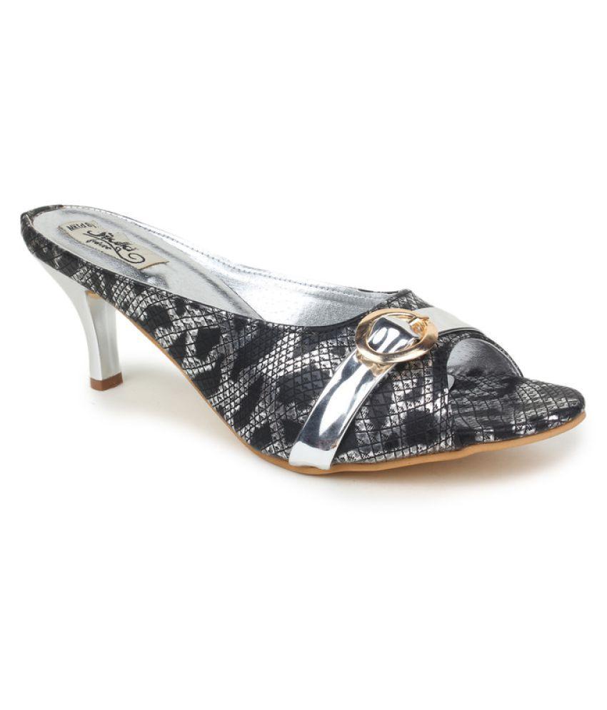 Sindhi Footwear Black Stiletto Heels