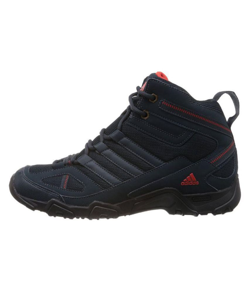 ... Adidas Xaphan Mid Blue Hiking Shoes ...