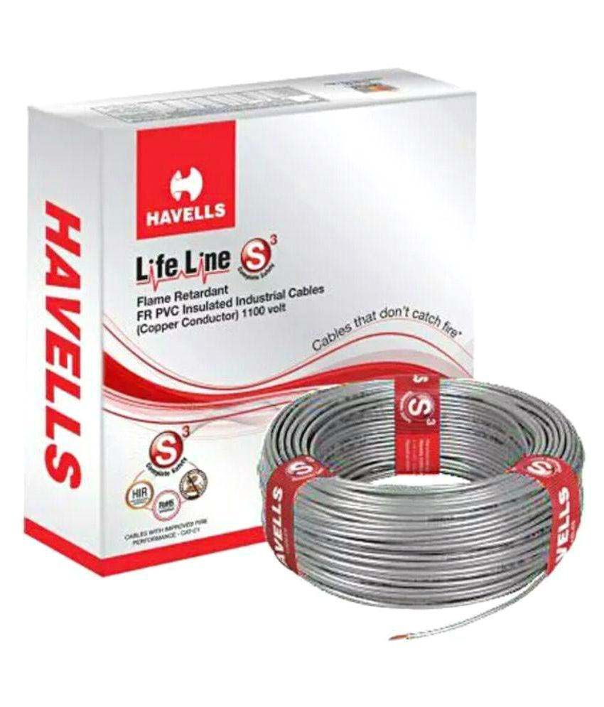 Havells House Wire 1 Core 1.5 Sqmm - Assorted Color