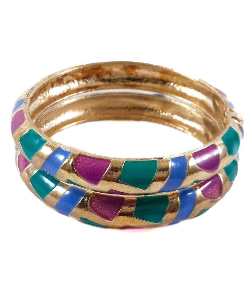 D'Clar Multicolor Cuff Set