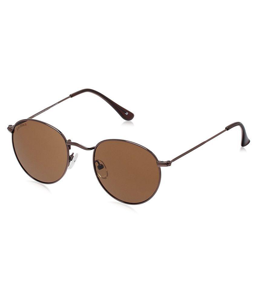 Joe Black - Brown Round Sunglasses ( JB-731-C11 )