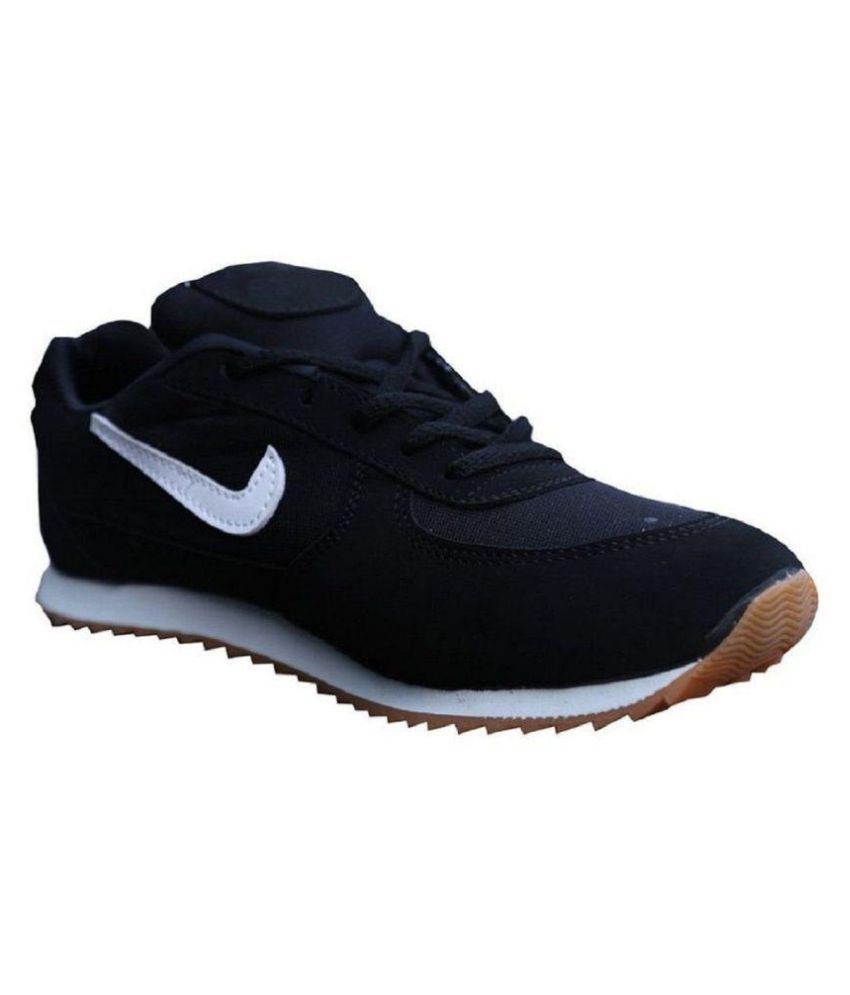 Port Black Running Shoes