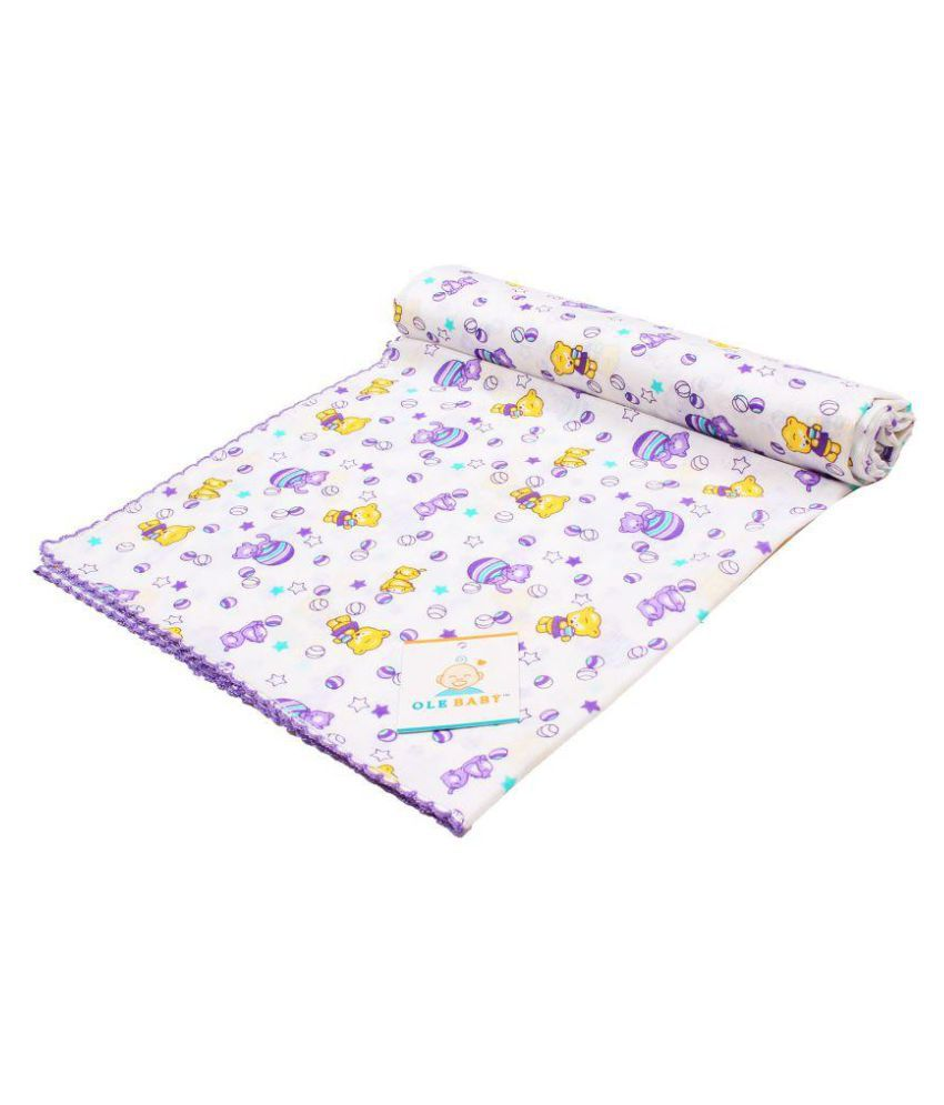 Ole Baby Puprle Cotton Baby Wrap