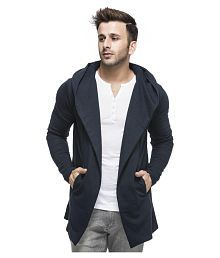 Tinted Navy Hooded Sweater