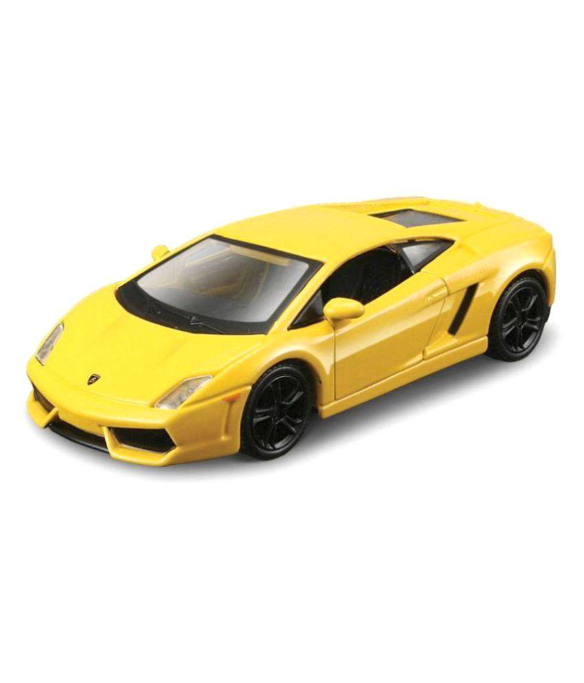 Maisto Yellow Power Kruzerz Pull Back Diecast Metal Lamborghini