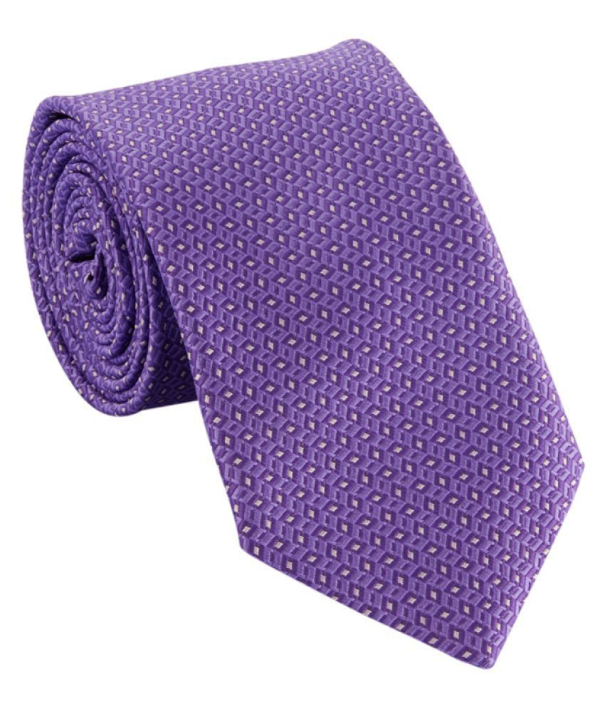 Park Avenue Purple Formal Necktie